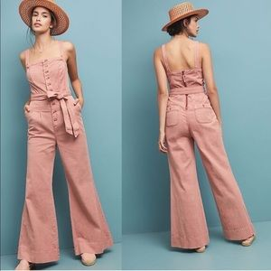 Anthropologie Pilco and the Letterpress Jumpsuit